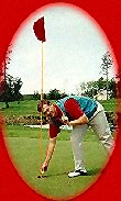 Hole-in-one at Harbour Pointe Golf Course, Mukilteo, Washington.