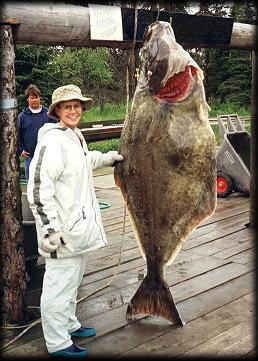 Alaska halibut fishing charters and guide service.