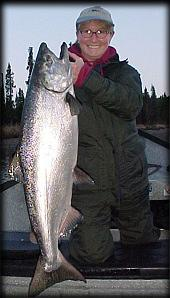 First-run Kasilof River king salmon